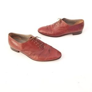 Bruno Magli Hand Made Italian Oxfords Size 12 M